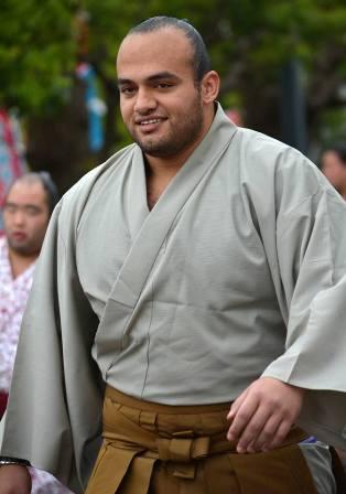El egipcio Osunaarashi se está convirtiendo en la gran atracción de este Haru Basho (Foto: Martina Lunau)
