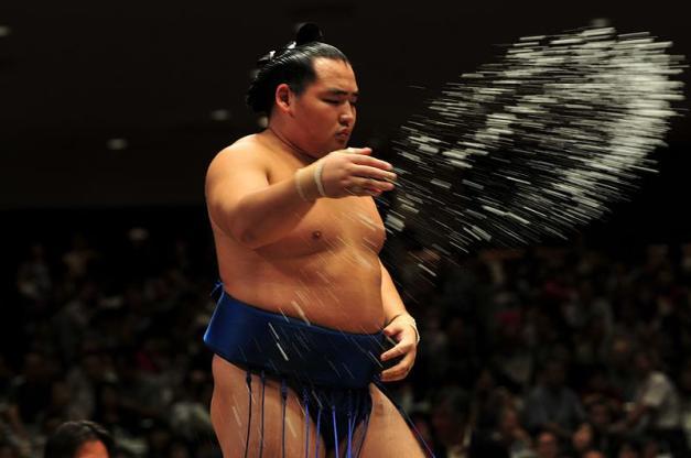 El Yokozuna Kakuryu caía hoy derrotado y se descuelga del grupo de líderes del Natsu Basho