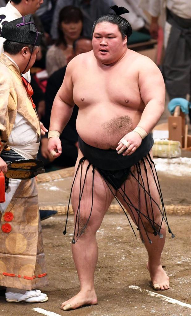 El Ozeki Goeido se mantiene como líder invicto en el Aki Basho (Foto: Sumoforum.net)