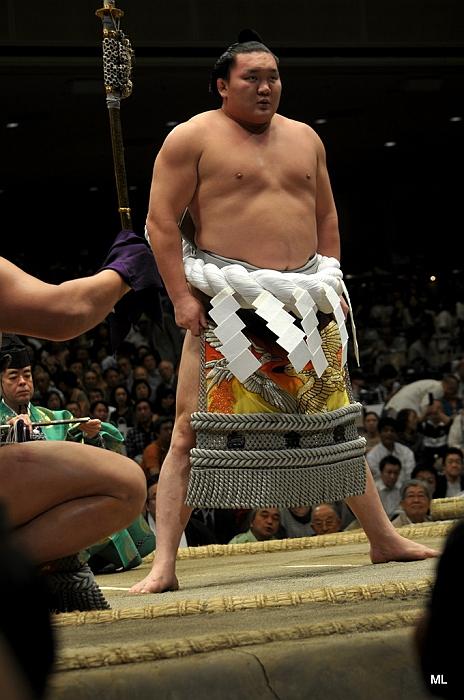 El Yokozuna Hakuho no participará en el Aki Basho por lesión (Foto: Martina Lunau)