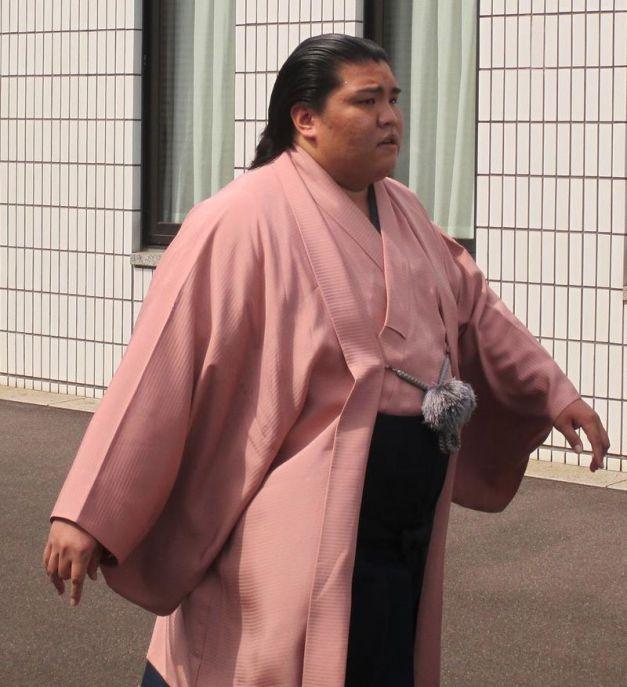 El Maegashira Mitakeumi ha protagonizado la primera gran sorpresa del torneo (Foto: Khafre78 - Wikipedia)