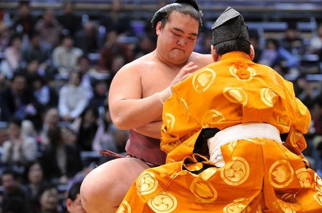El Ozeki Kisenosato consiguió su primer título y seguramente será Yokozuna en marzo (Foto: Martina Lunau)